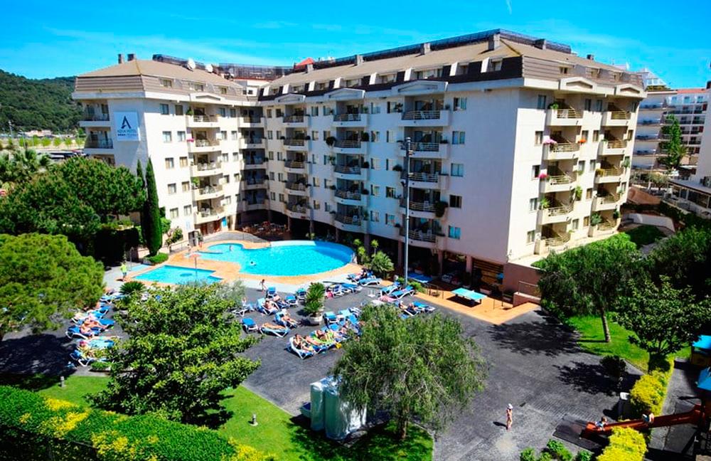 Aqua hotel Montagut en Sta. Susanna
